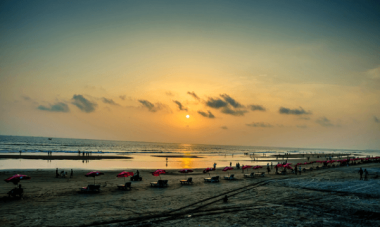 cox's bazar sunset